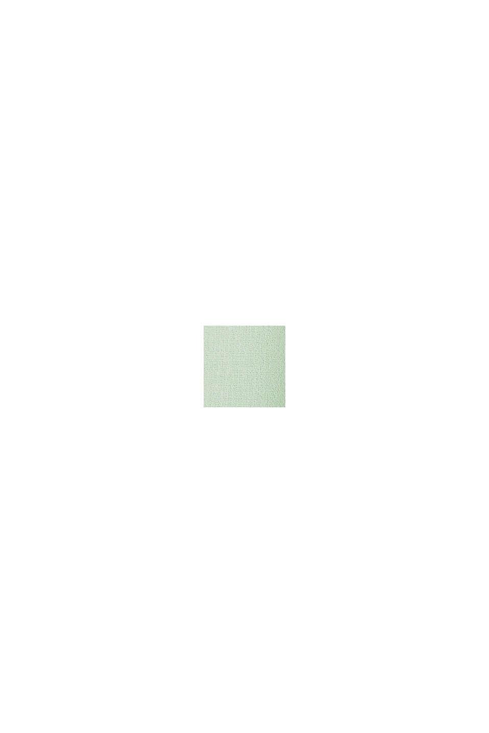 Chiffon-Kleid mit Wickeleffekt, PASTEL GREEN, swatch
