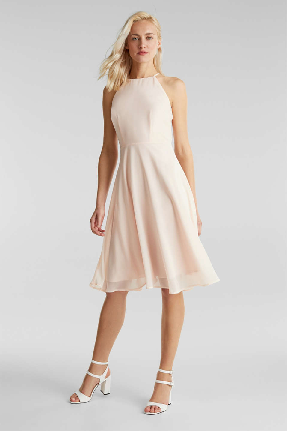 Esprit - Recycled: dress with lace back