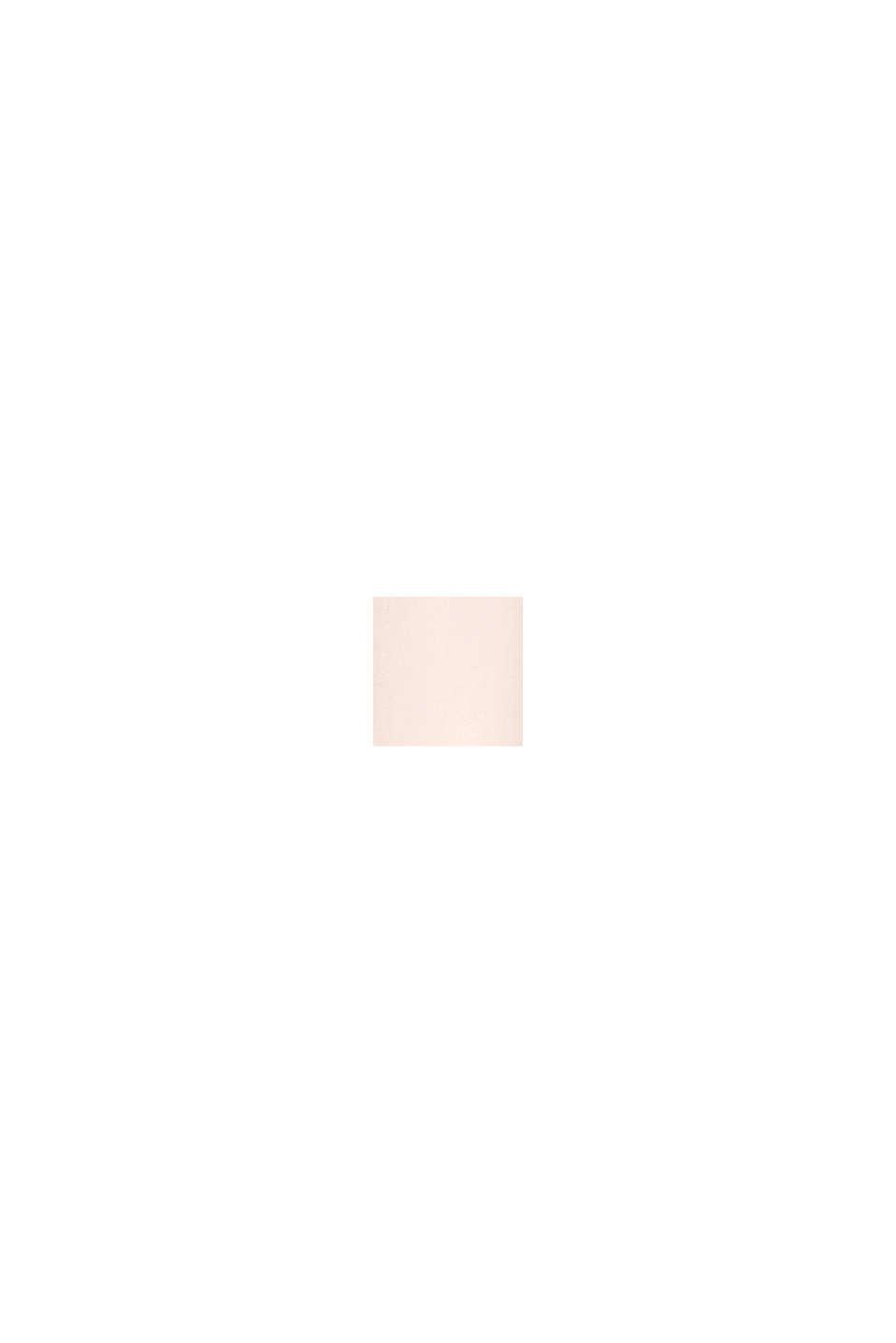 Recycelt: Kleid mit Spitzen-Rücken, PASTEL PINK, swatch