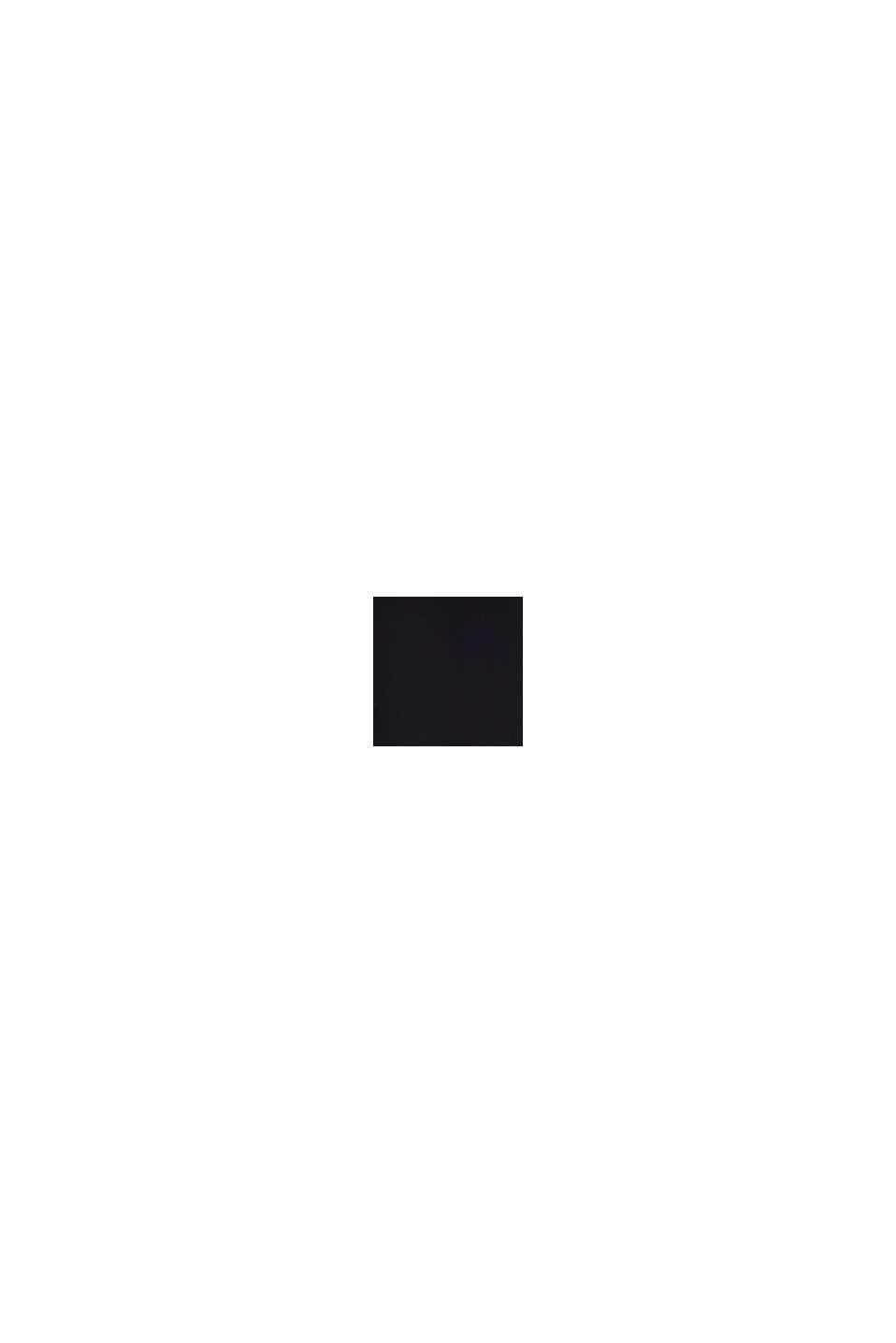 Blousetop van LENZING™ ECOVERO™, BLACK, swatch
