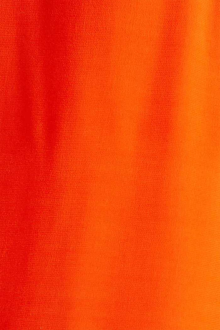 Blouse top made of LENZING™ ECOVERO™, RED ORANGE, detail image number 3