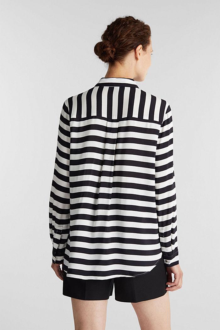 Crêpe blouse, LENZING™ ECOVERO™, NEW OFF WHITE, detail image number 3