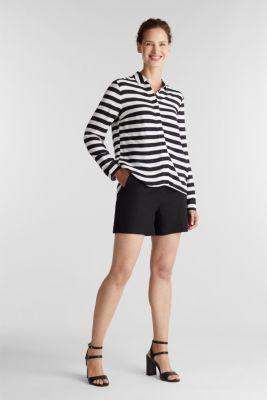Crêpe blouse, LENZING™ ECOVERO™, NEW OFF WHITE, detail