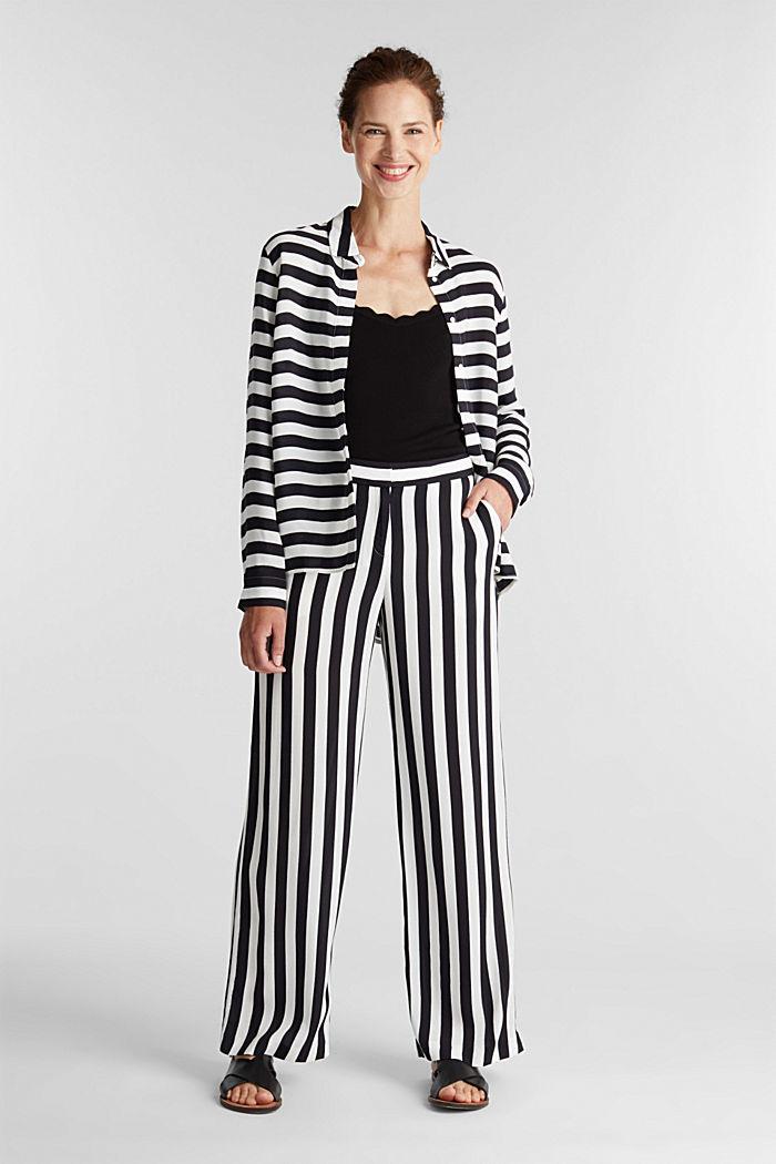 Crêpe blouse, LENZING™ ECOVERO™, NEW OFF WHITE, detail image number 6
