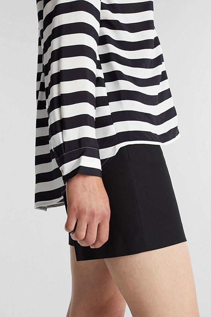 Crêpe blouse, LENZING™ ECOVERO™, NEW OFF WHITE, detail image number 2