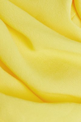 Strappy top made of LENZING™ ECOVERO™, YELLOW, detail