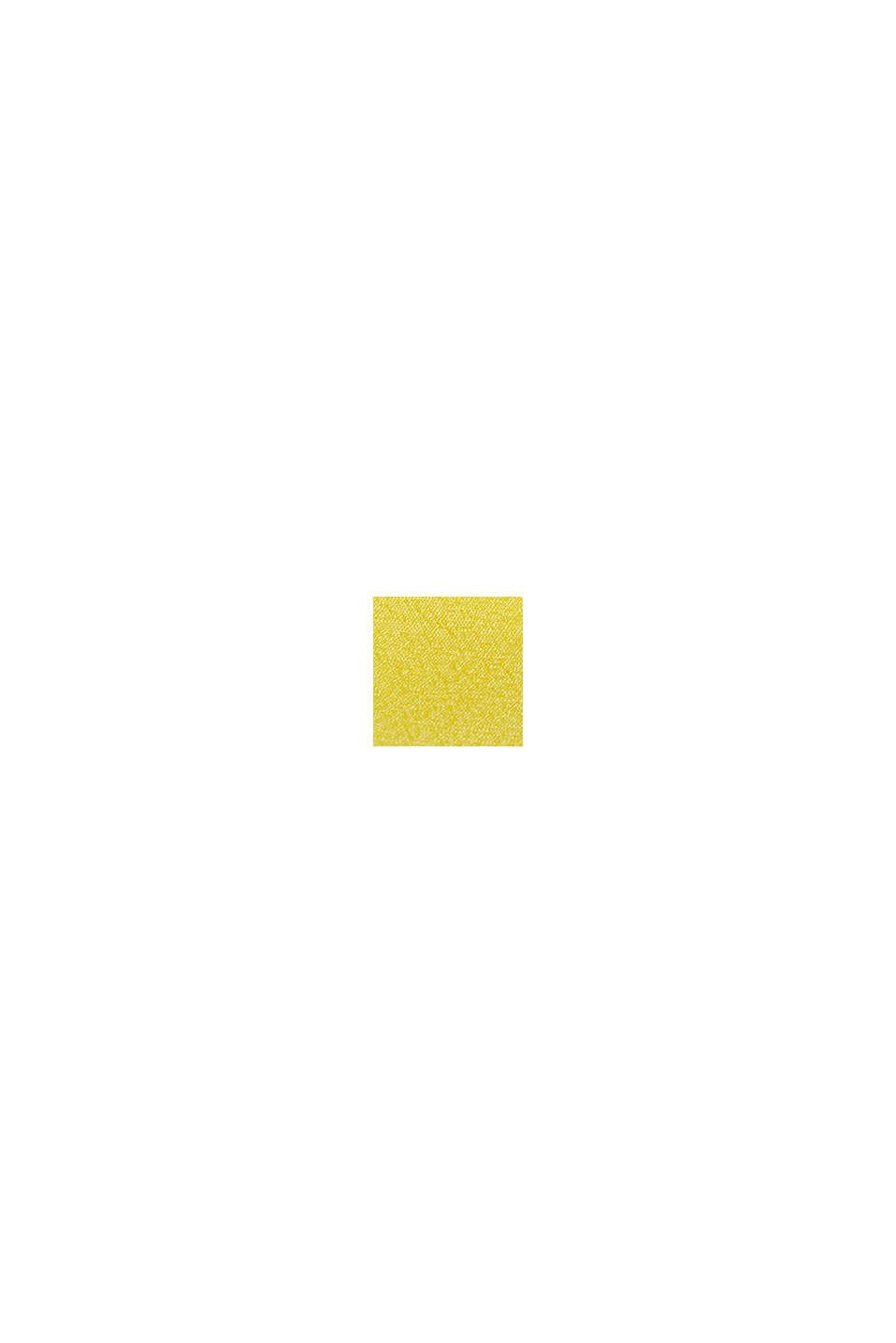 Haut à bretelles en LENZING™ ECOVERO™, YELLOW, swatch