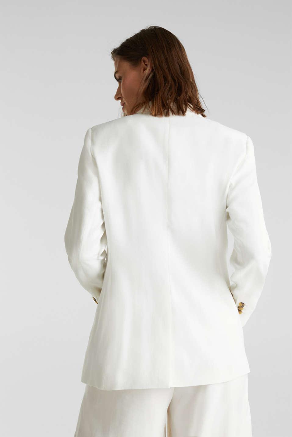 SUMMER BIZ mix + match blazer, WHITE, detail image number 3