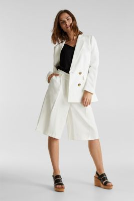 SUMMER BIZ mix + match blazer, WHITE, detail