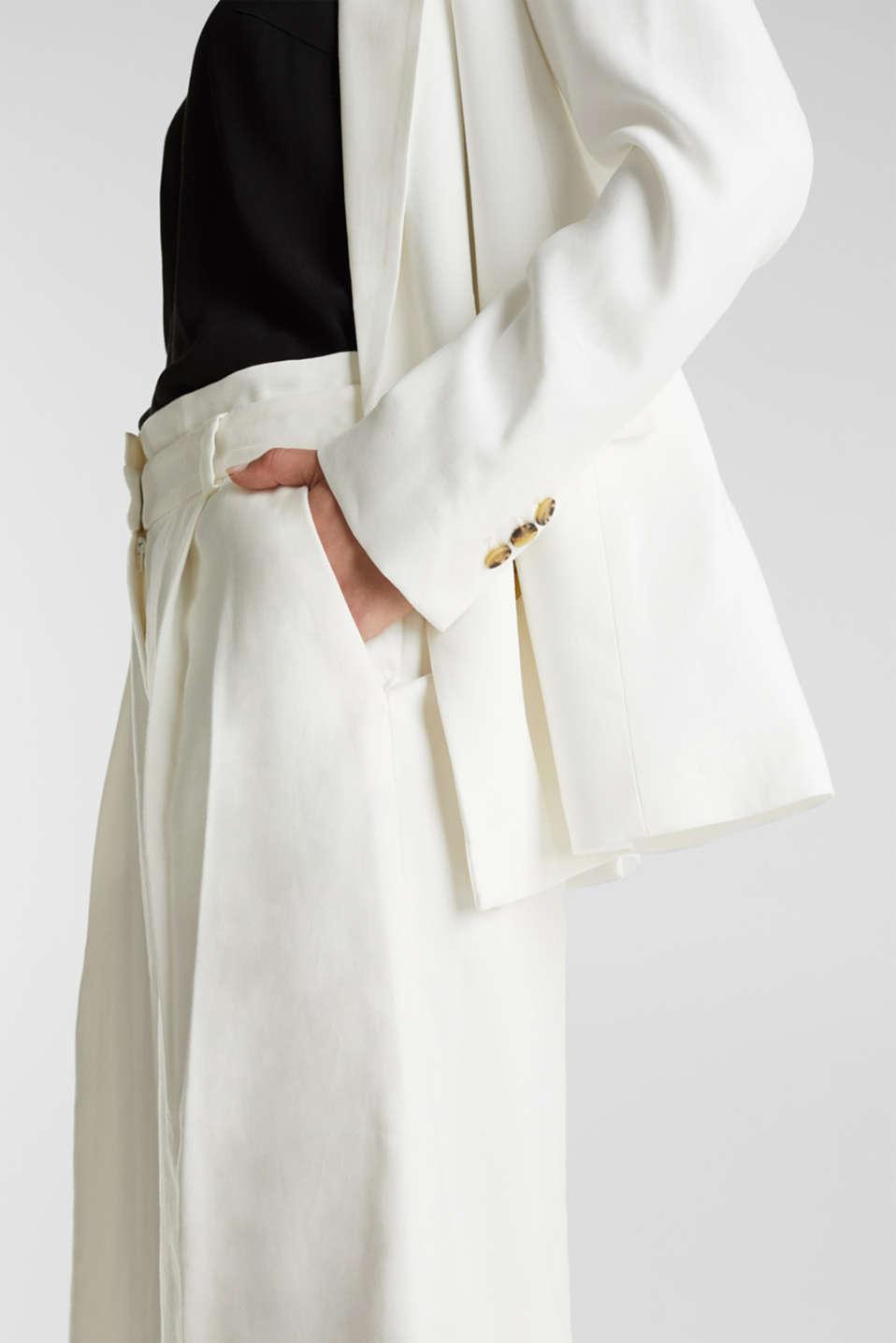 SUMMER BIZ mix + match blazer, WHITE, detail image number 2