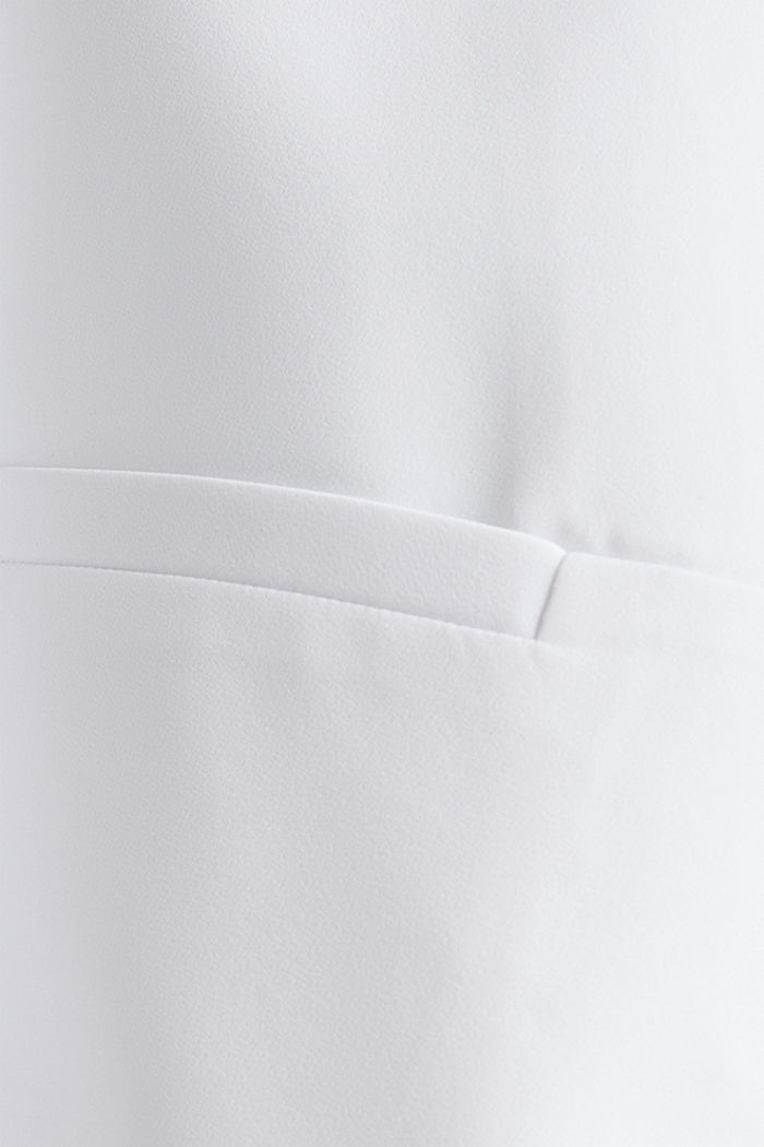 Stretch blazer with a back pleat, WHITE, detail image number 4