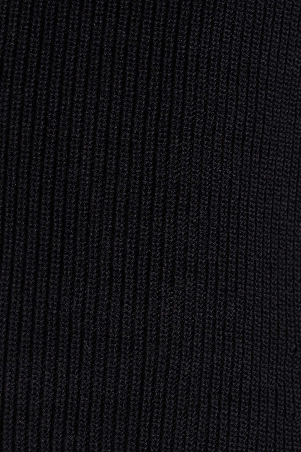 Textured knit cardigan with TENCEL™, BLACK, detail image number 4