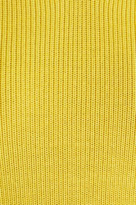 Knitted V-neck top With TENCEL™, YELLOW, detail