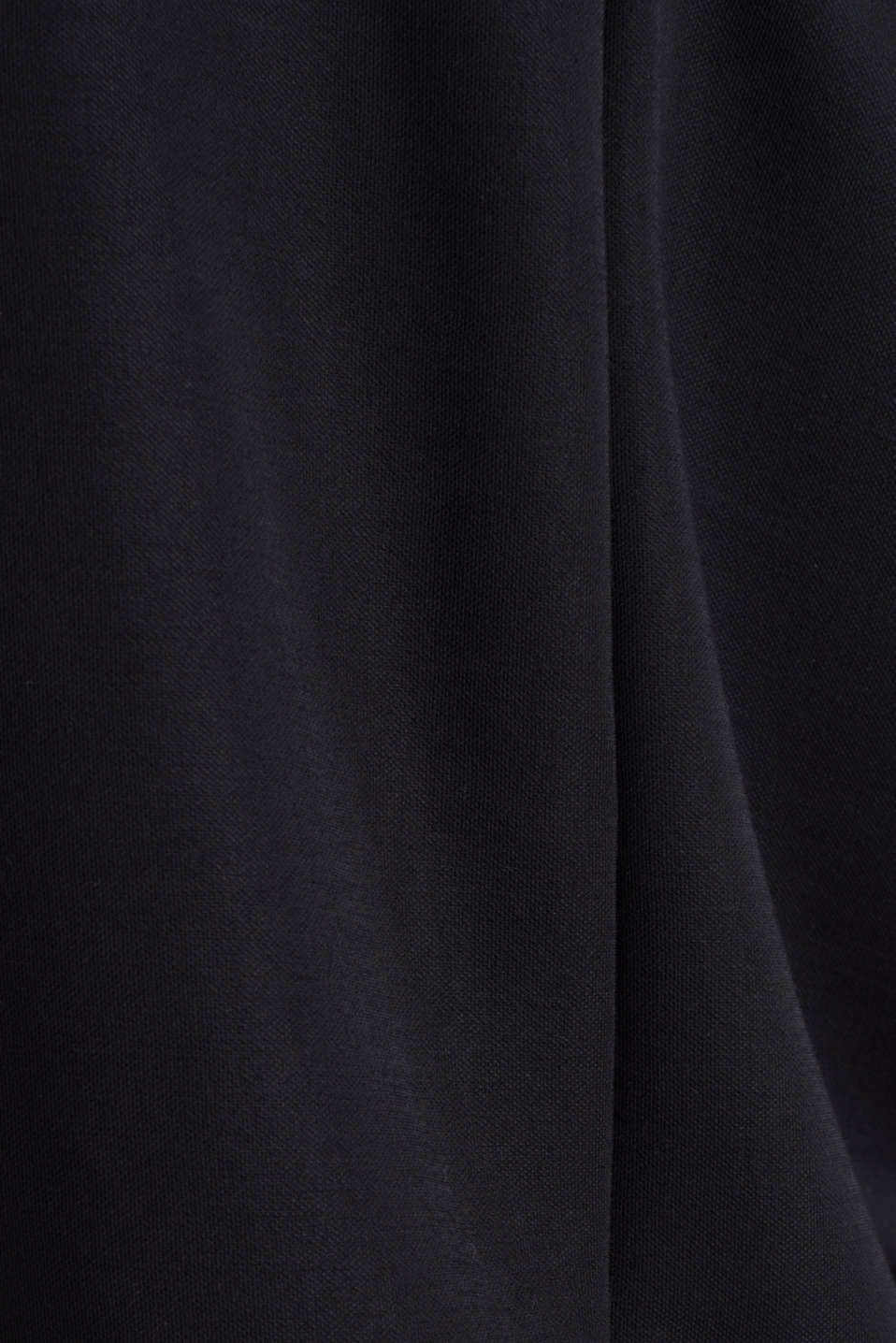 Stretch jersey top with a stand-up collar, BLACK, detail image number 4