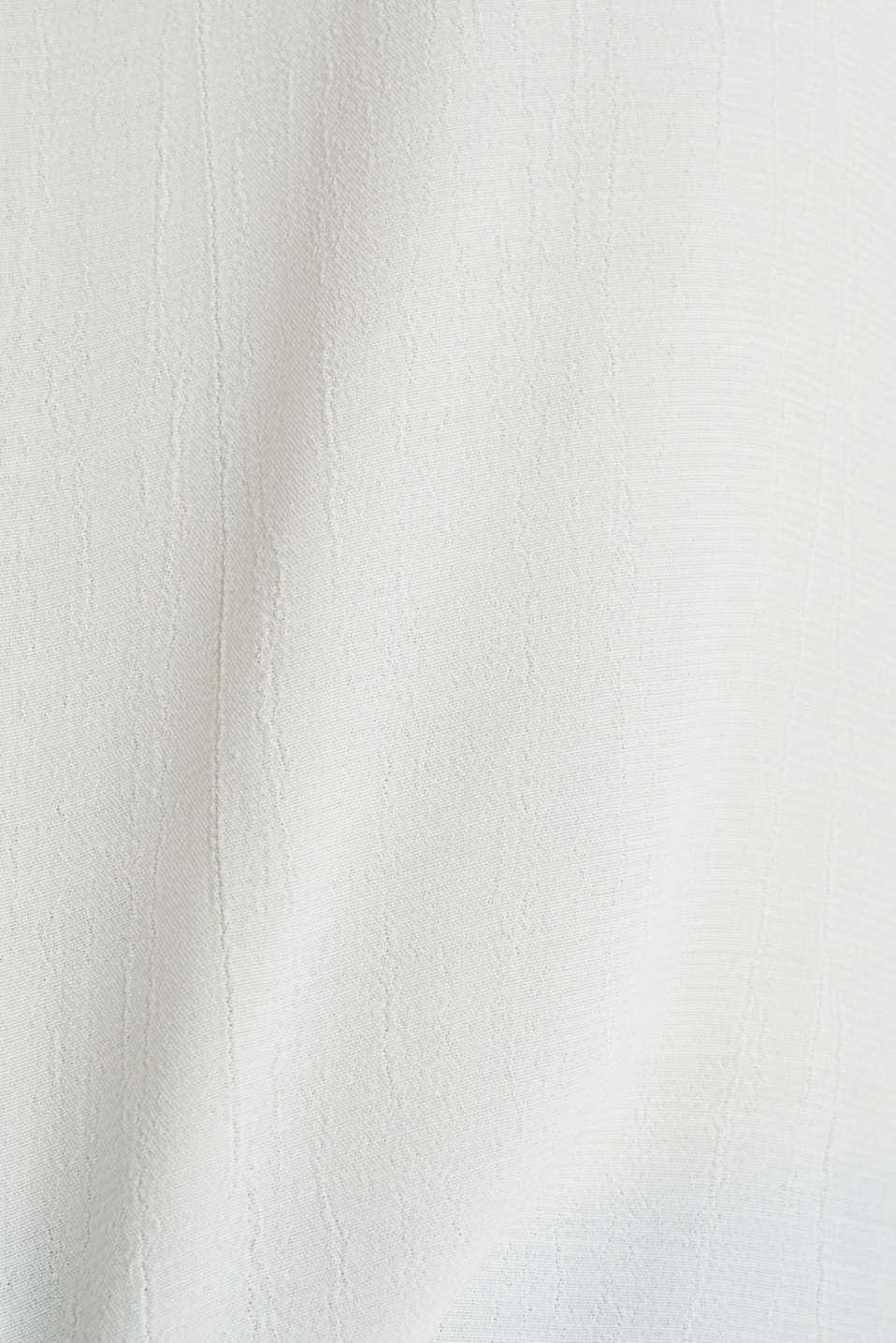 Blouse top with contrast details, OFF WHITE, detail image number 4