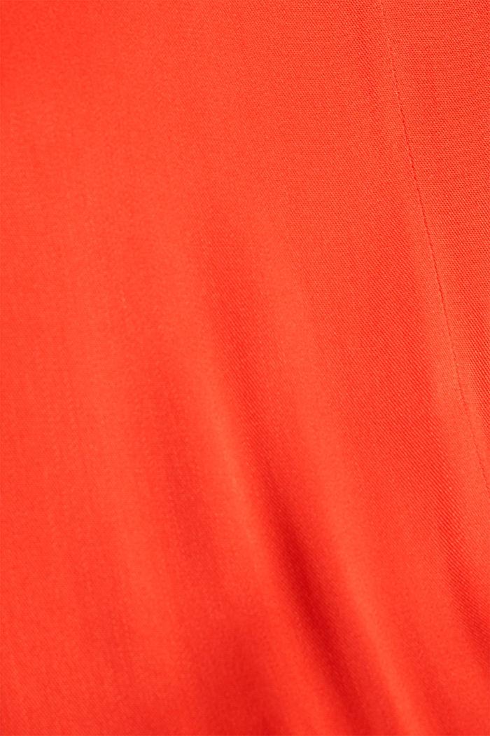 Jumpsuit made of LENZING™ ECOVERO™, RED ORANGE, detail image number 4