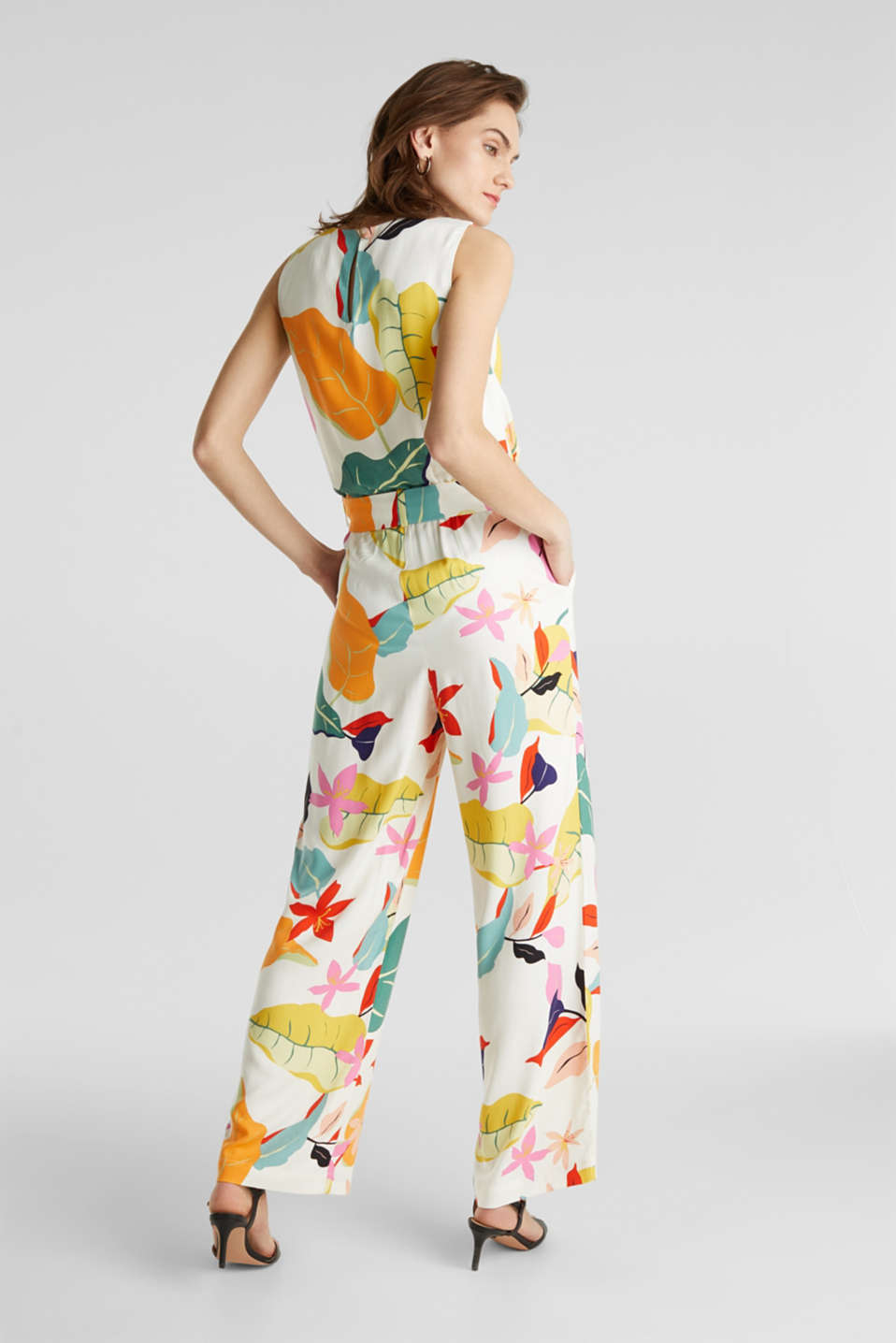 Jumpsuit made of LENZING™ ECOVERO™, OFF WHITE 4, detail image number 3