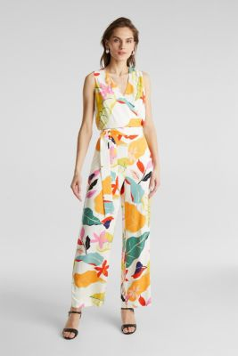 Jumpsuit made of LENZING™ ECOVERO™, OFF WHITE 4, detail