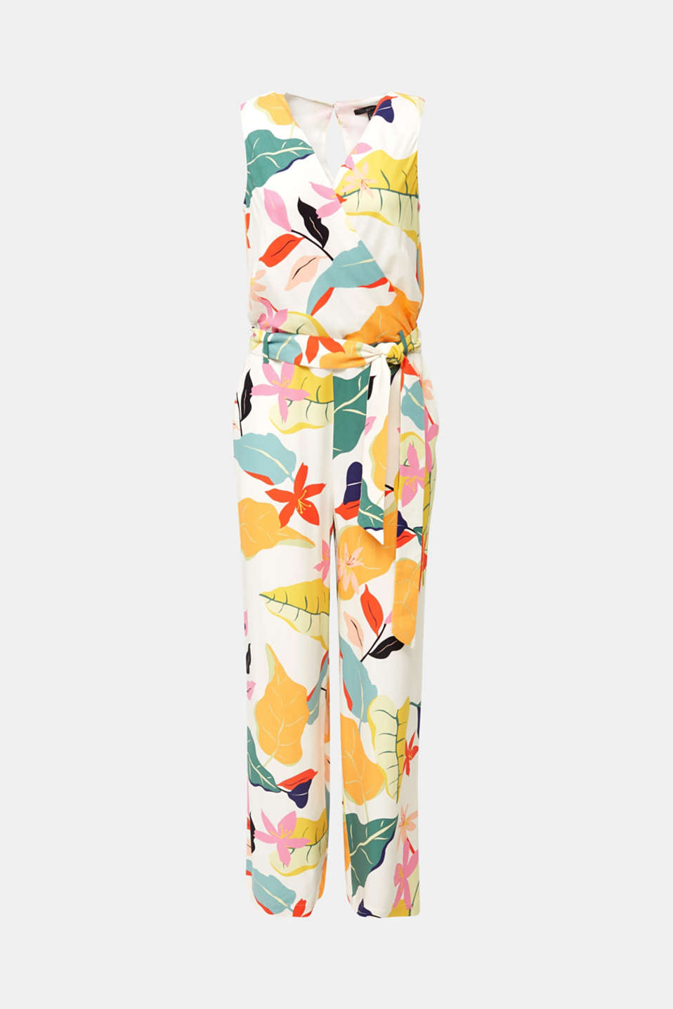Jumpsuit made of LENZING™ ECOVERO™, OFF WHITE 4, detail image number 6