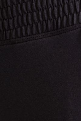 Tracksuit bottoms in smooth jersey, NAVY, detail