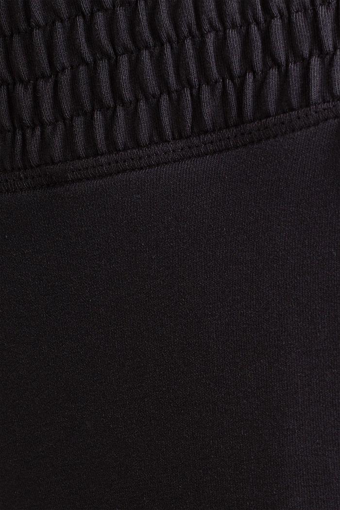 Sweat-Pants aus glattem Jersey, NAVY, detail image number 4