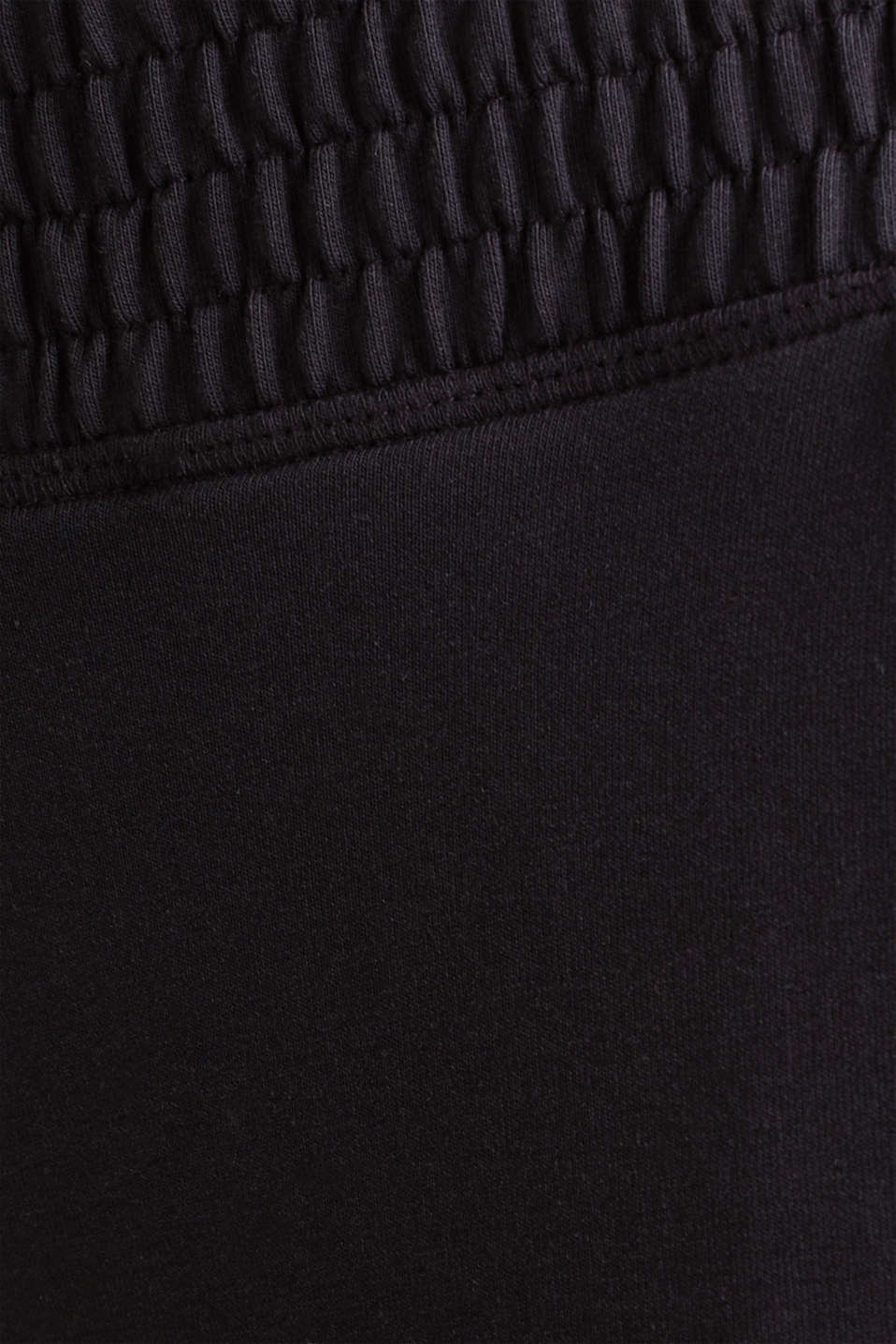Tracksuit bottoms in smooth jersey, NAVY, detail image number 4