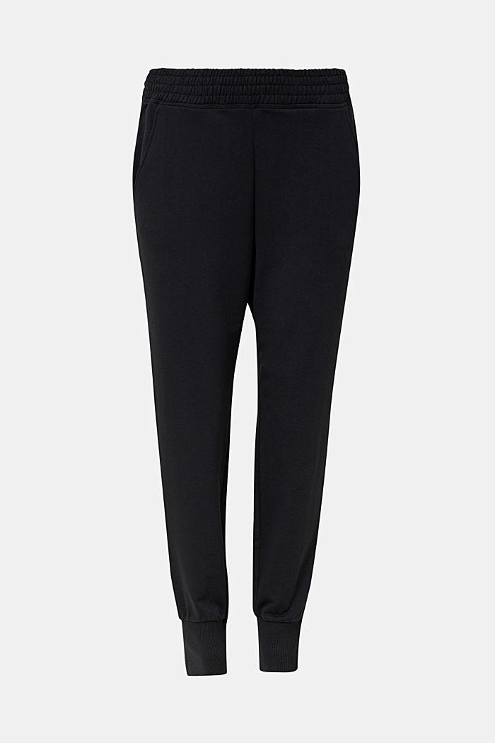 Sweat-Pants aus glattem Jersey, NAVY, detail image number 6