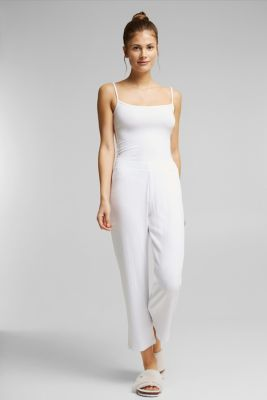 Culottes made of LENZING™ ECOVERO™, WHITE, detail