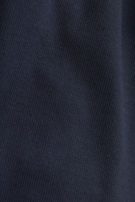 Made of TENCEL™/modal: jersey cardigan, NAVY, detail