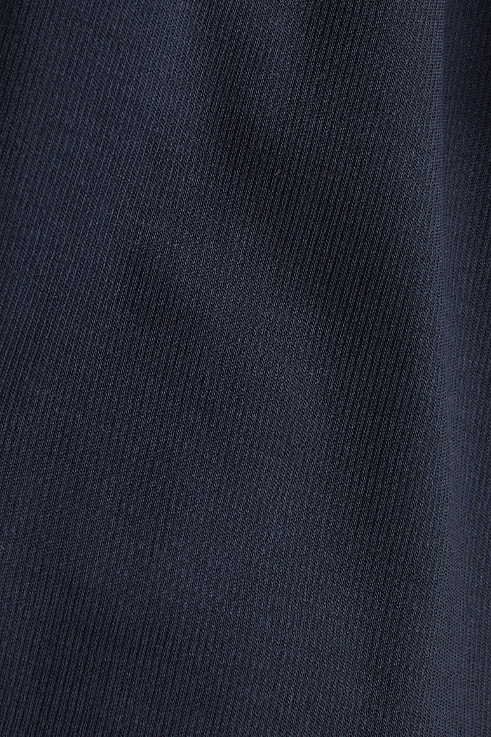 Made of TENCEL™/modal: jersey cardigan, NAVY, detail image number 4