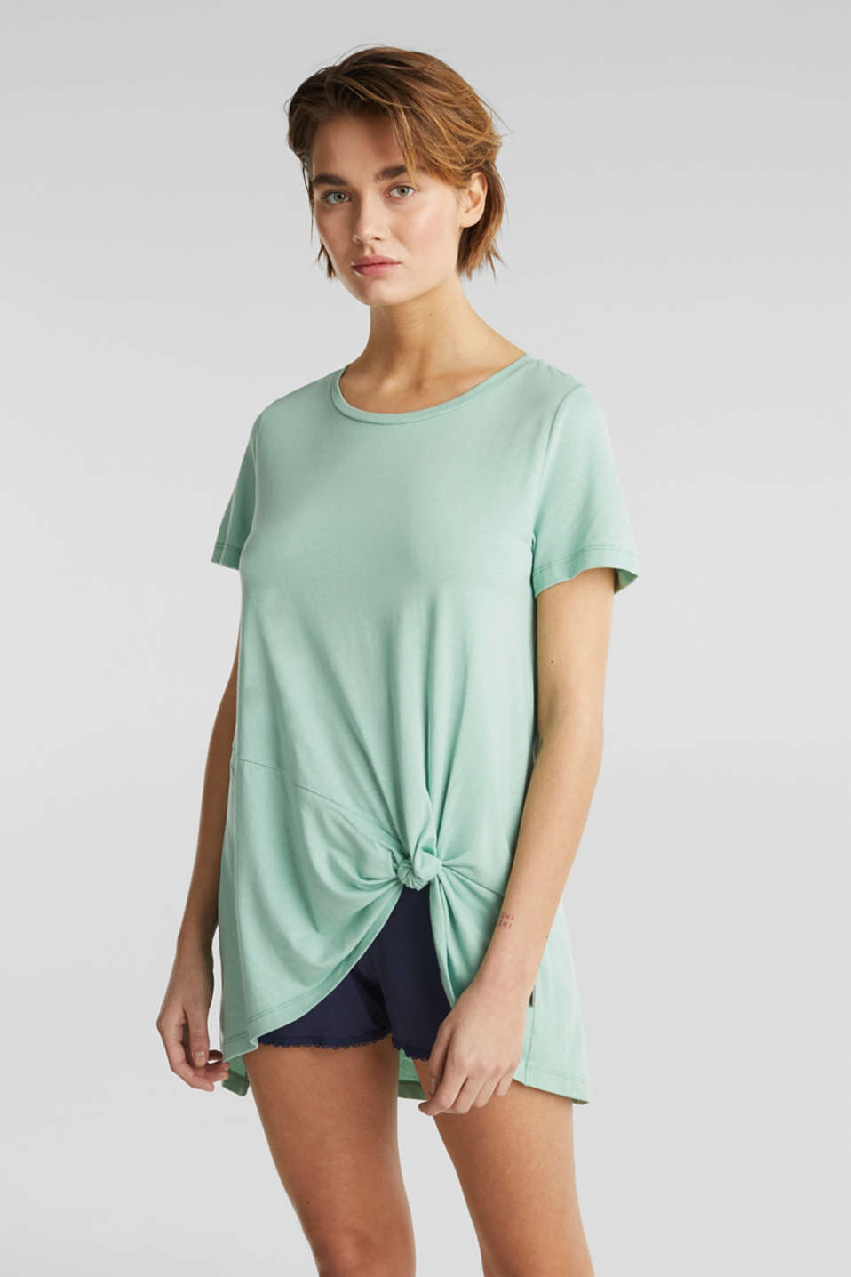 Esprit - Long top with knot detail