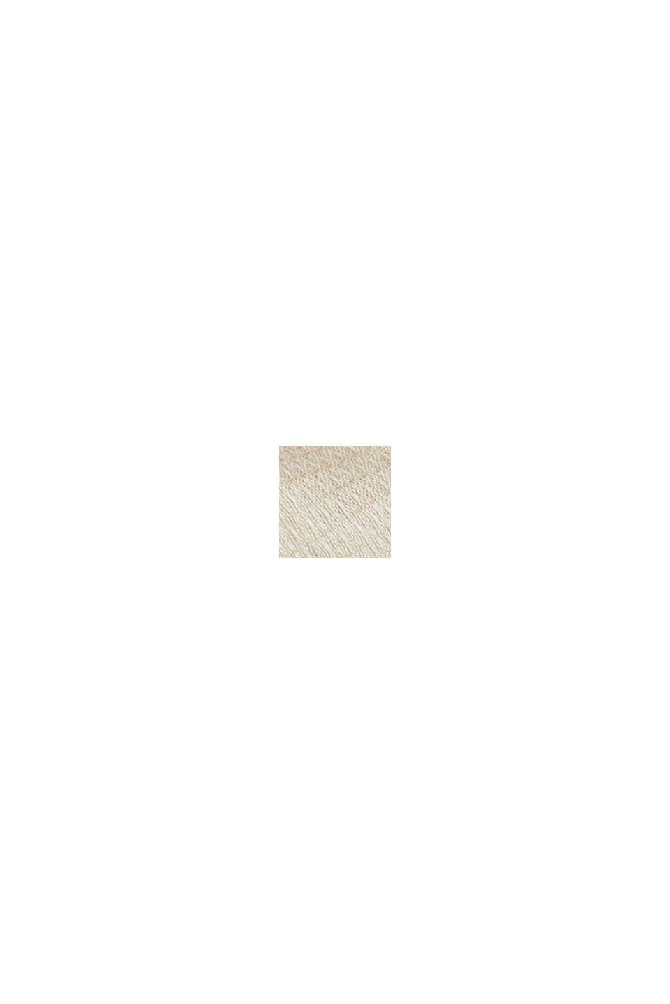 Struktur-Schal mit TENCEL™ REFIBRA™, SAND, swatch