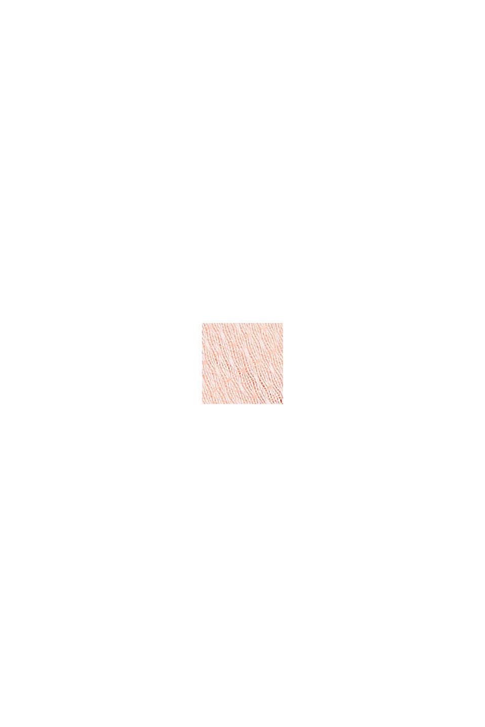 Foulard texturé à teneur en TENCEL™ REFIBRA™, SALMON, swatch