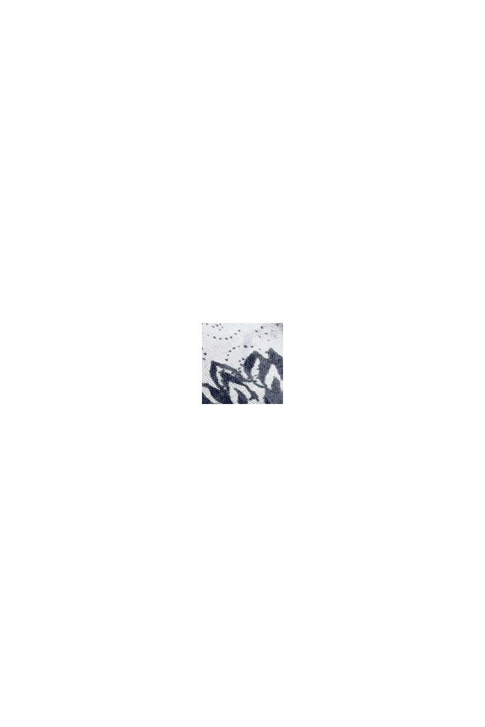 Recycelt: Loop-Schal mit Muster, NAVY, swatch