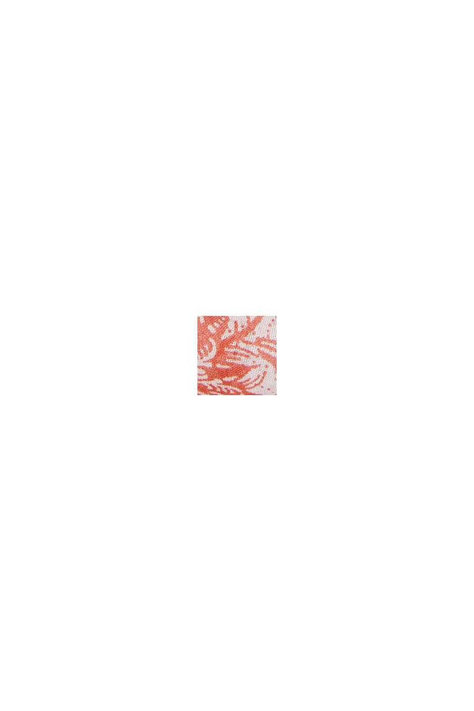 Recycelt: Loop-Schal mit Muster, CORAL, swatch