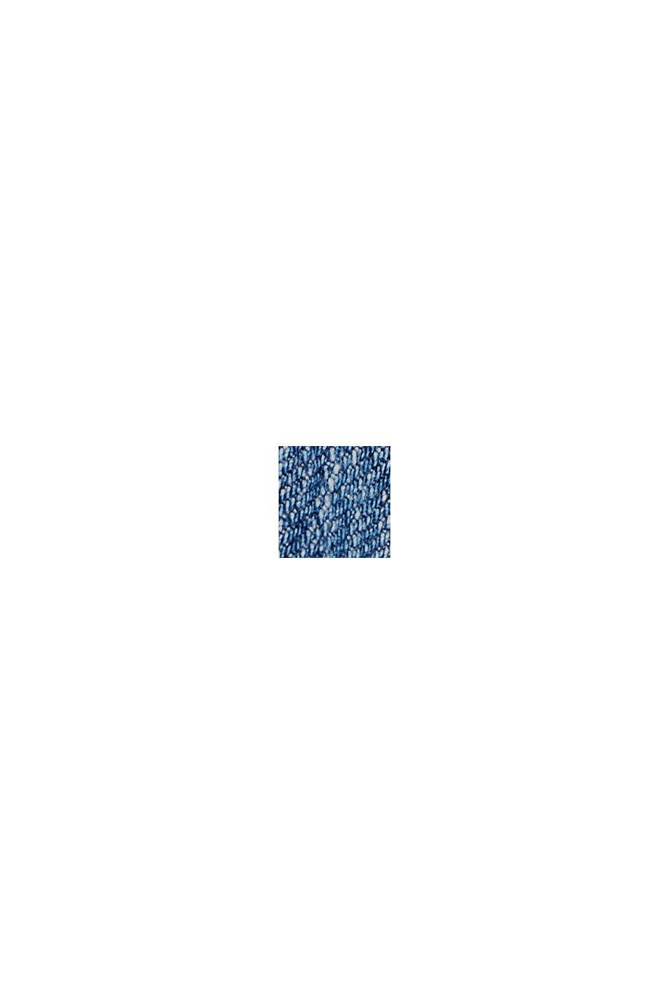 Vaqueros elásticos en algodón ecológico, BLUE MEDIUM WASHED, swatch