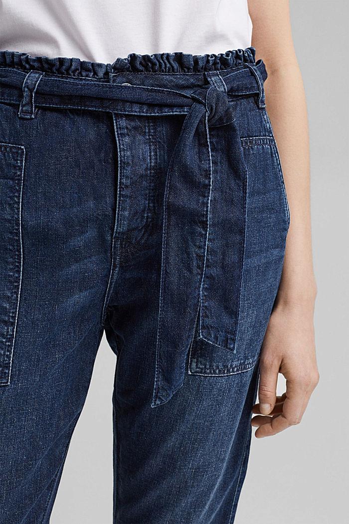#ReimagineNaturalLifestyle: Paperbag-Jeans, BLUE MEDIUM WASHED, detail image number 2