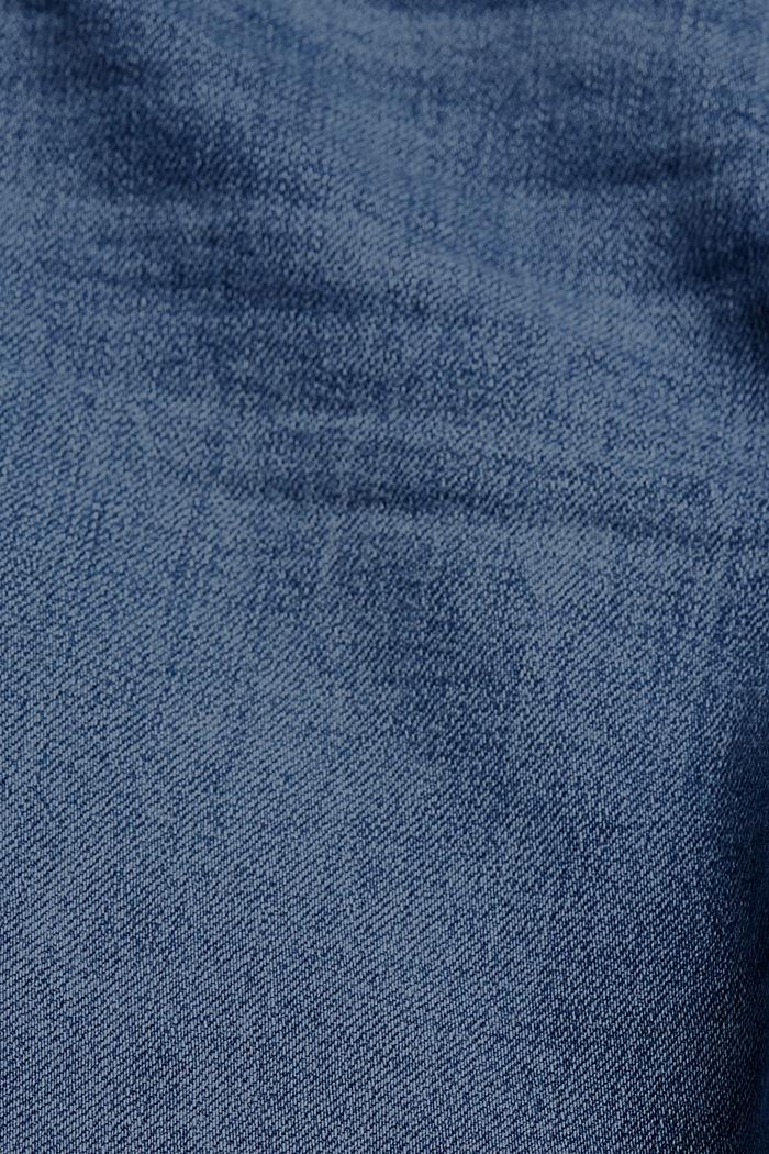 Stretch-Jeans aus Organic Cotton, BLUE MEDIUM WASHED, detail image number 4