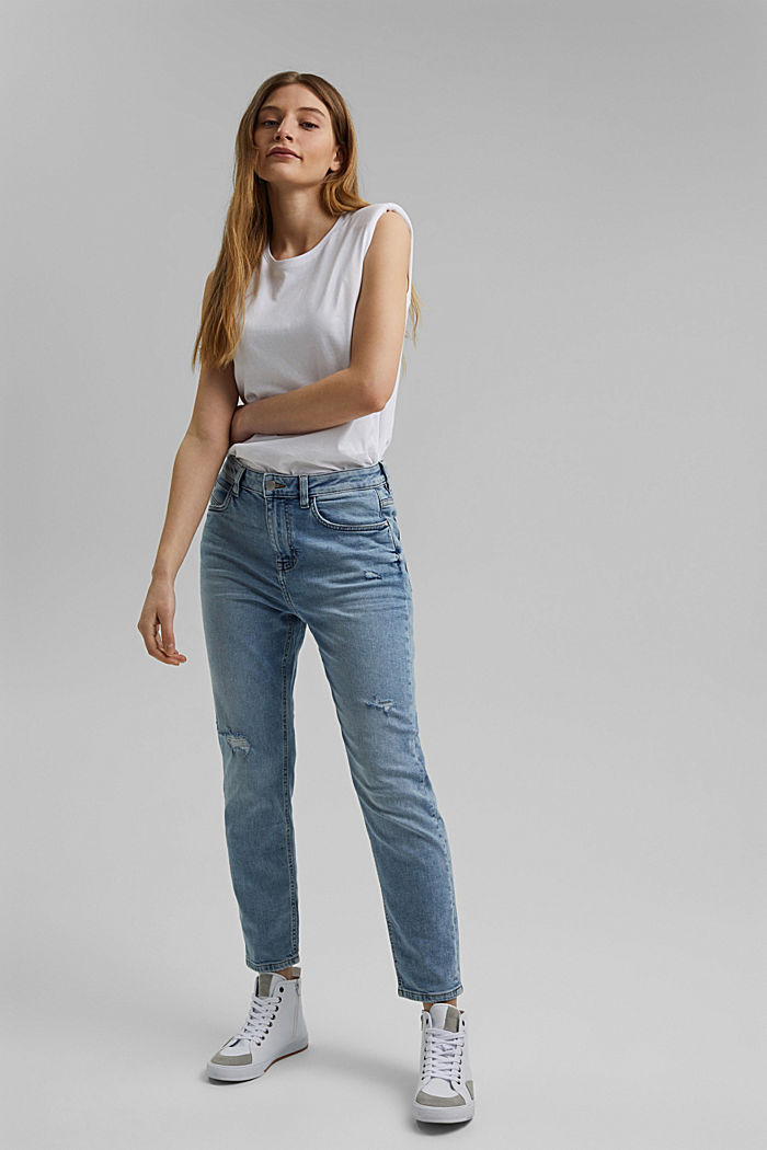 Stretch-Jeans aus Organic Cotton