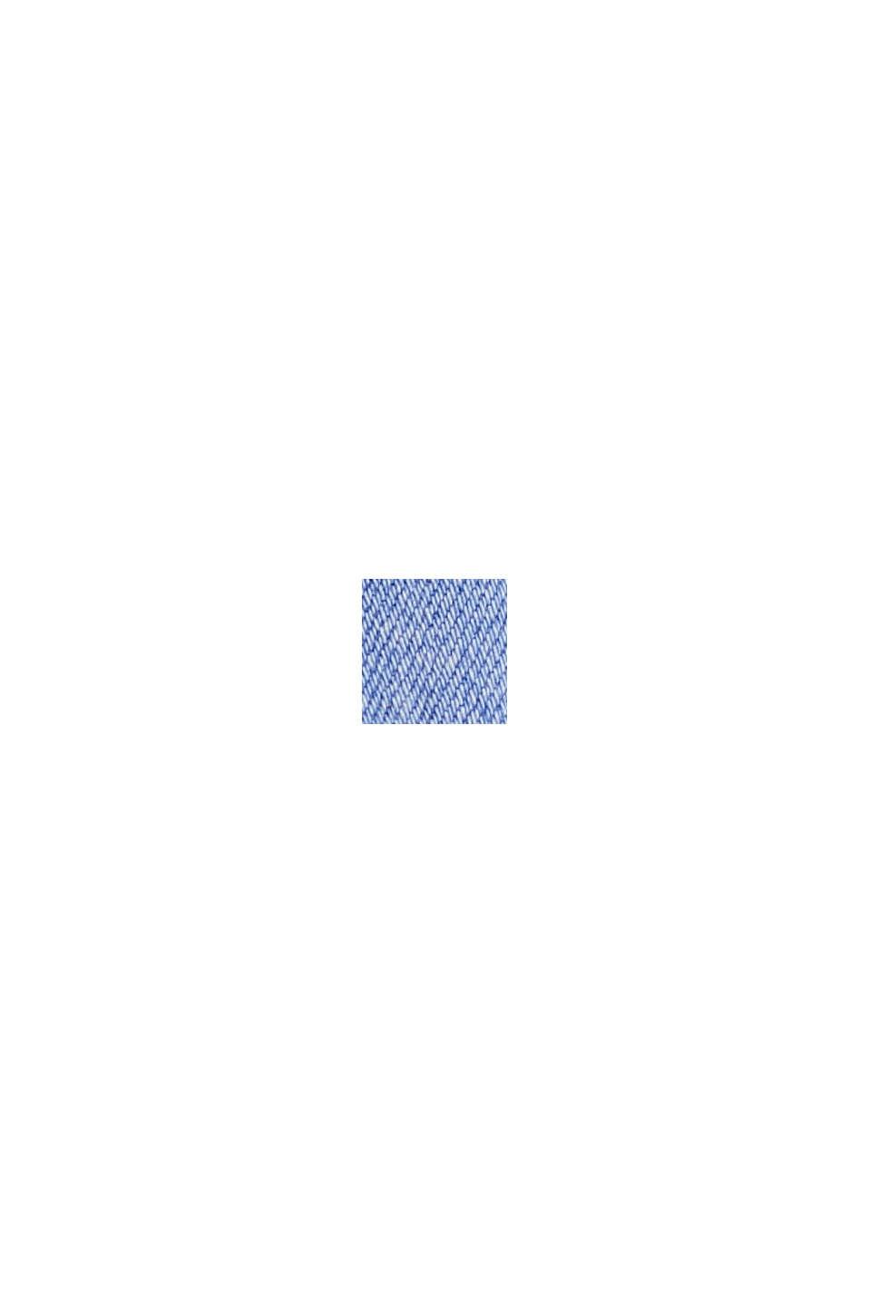 Stretch-Jeans im Used-Look aus Baumwolle, BRIGHT BLUE, swatch