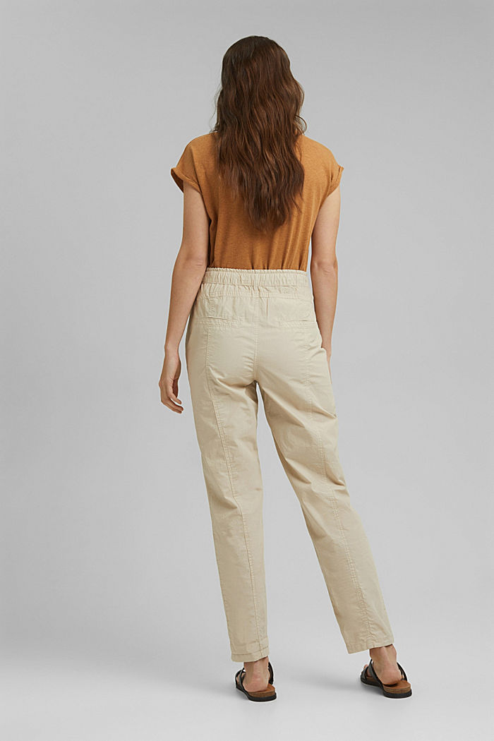 PLAY trousers made of 100% organic cotton, BEIGE, detail image number 3