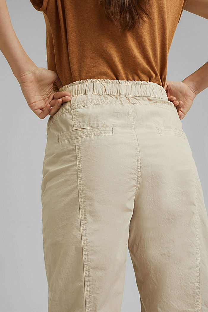 PLAY trousers made of 100% organic cotton, BEIGE, detail image number 5