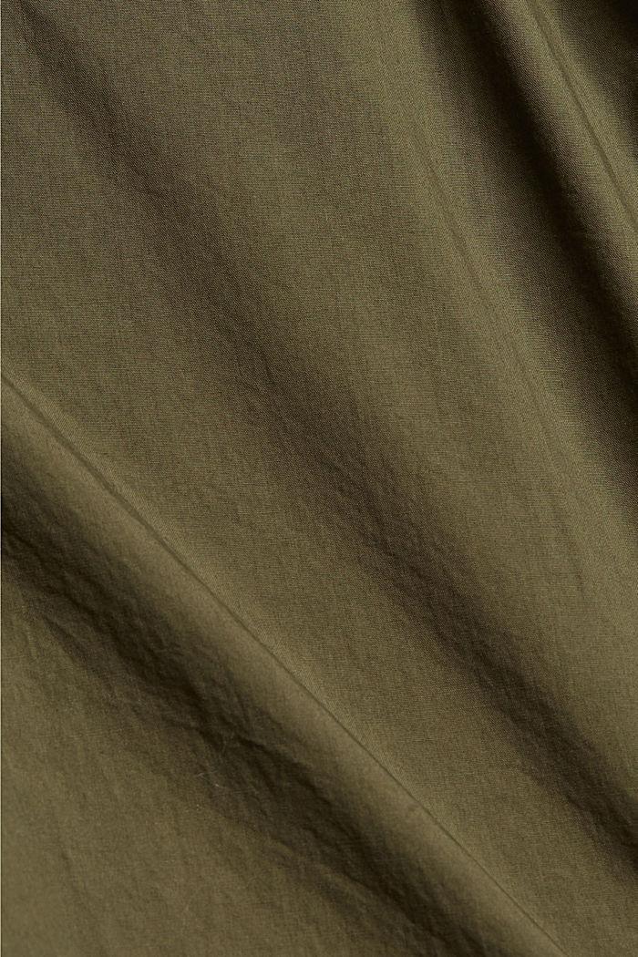 PLAY broek van 100% biologisch katoen, KHAKI GREEN, detail image number 4