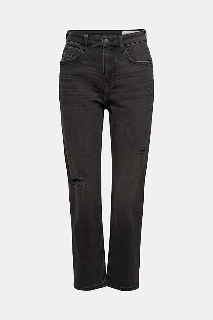 Cropped Boyfriend-Jeans, Organic Cotton