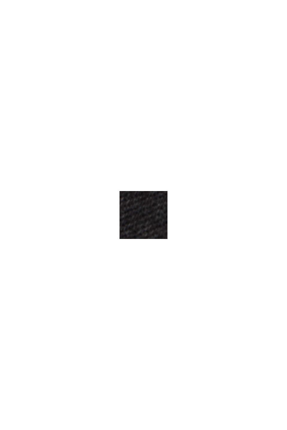 Vaqueros tobilleros de estilo masculino, algodón ecológico, BLACK DARK WASHED, swatch