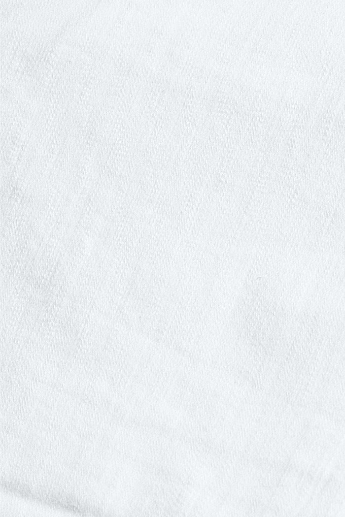 Denim shorts made of organic cotton, WHITE, detail image number 4