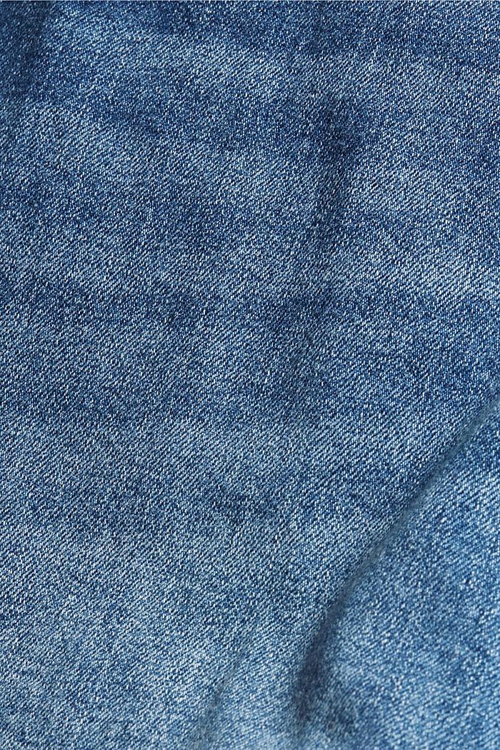 Hameshortsit denimiä, BLUE MEDIUM WASHED, detail image number 4