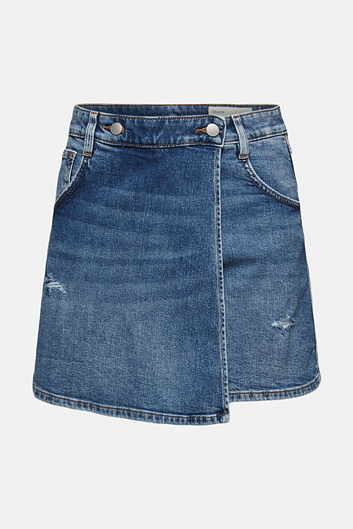 Rock-Shorts aus Jeans