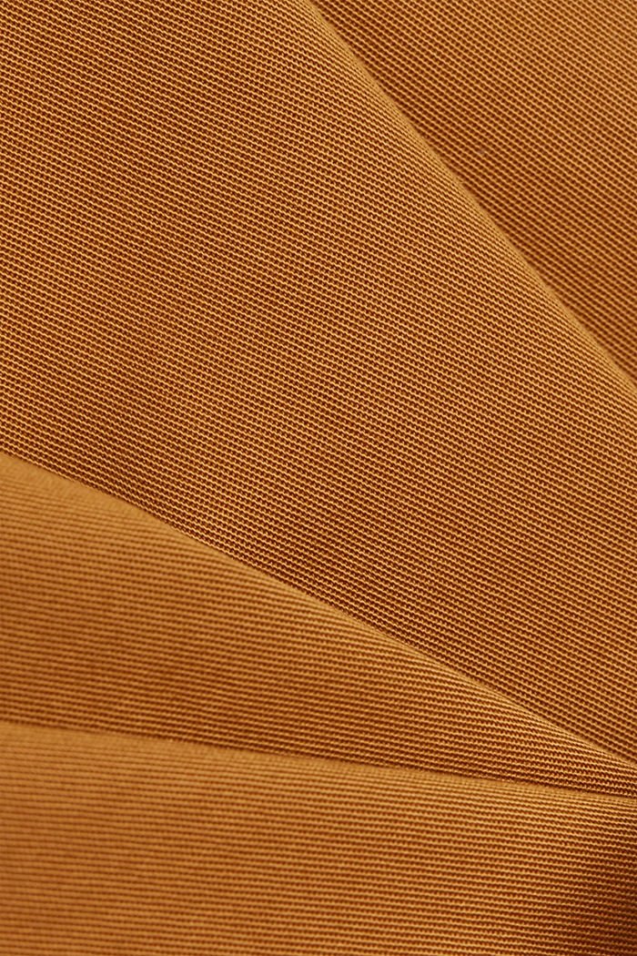 Paper bag shorts with belt, CARAMEL, detail image number 4