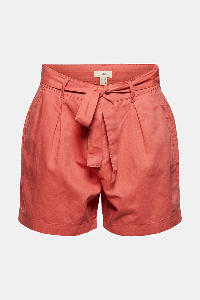 #ReimagineNaturalLifestyle: Shorts aus Leinenmix